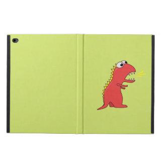 Dinosaurio lindo de T-Rex del dibujo animado de la