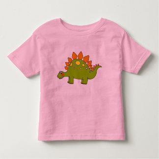 Dinosaurio lindo - stegosaurus playeras