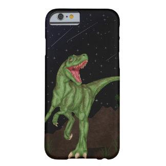 Dinosaurio - noche prehistórica funda para iPhone 6 barely there