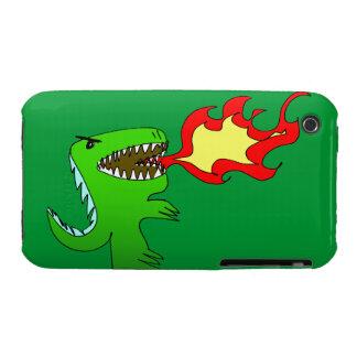 Dinosaurio o dragón por poco t + Jessica Jimerson iPhone 3 Case-Mate Cárcasa