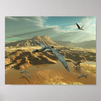 Dinosaurio Póster