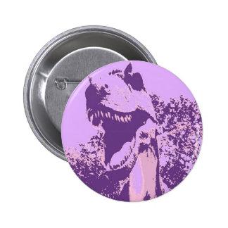Dinosaurio púrpura T-Rex Pins
