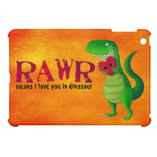 Dinosaurio romántico de RAWR T-rex