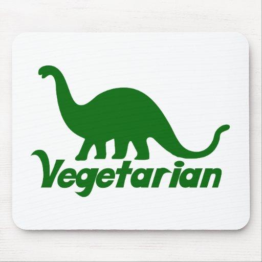 Dinosaurio vegetariano alfombrillas de ratones