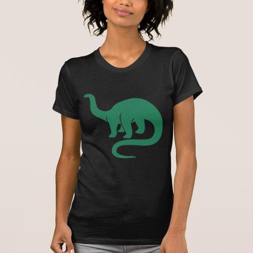 Dinosaurio - verde camiseta