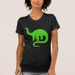 Dinosaurio - verde claro camiseta