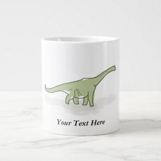 Dinosaurio verde, ejemplo de Digitaces Taza Grande