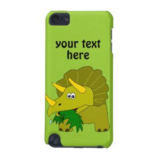 Dinosaurio verde lindo del dibujo animado del Tric