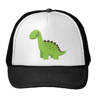Dinosaurio verde lindo gorros