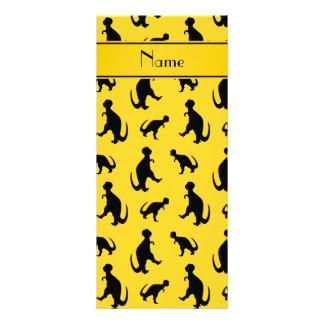 Dinosaurios amarillos conocidos personalizados del lona