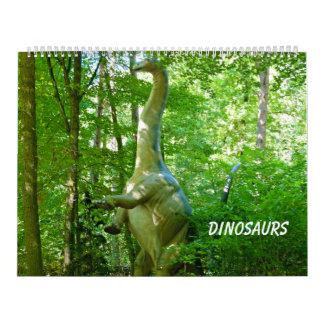 Dinosaurios Calendarios De Pared