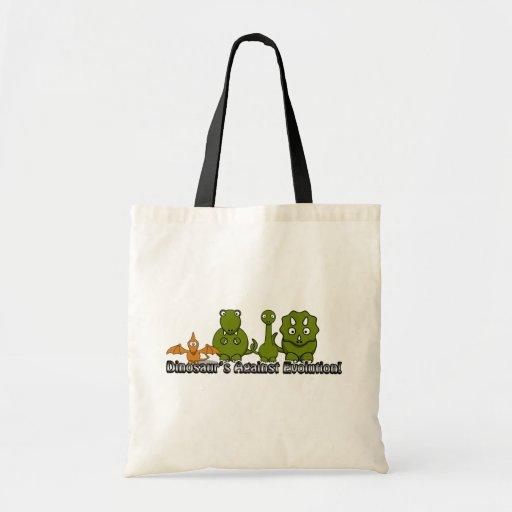 Dinosaurios contra la evolución bolsas