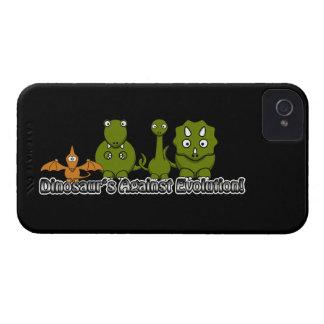 Dinosaurios contra la evolución iPhone 4 protector