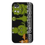 Dinosaurios contra la evolución iPhone 4 cárcasa