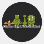 Dinosaurios contra la evolución pegatina