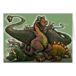 Dinosaurios Felicitación