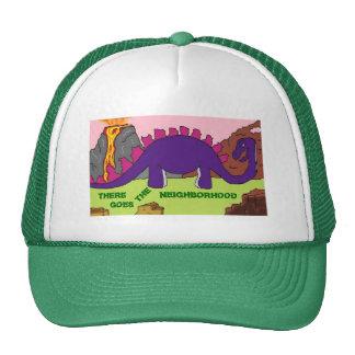 DINOSAURIOS - gorras de la VECINDAD de DINO