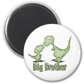 Dinosaurios hermano mayor imán redondo 5 cm