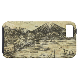 Dinosaurios iPhone 5 Carcasas