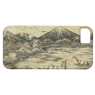 Dinosaurios iPhone 5 Funda