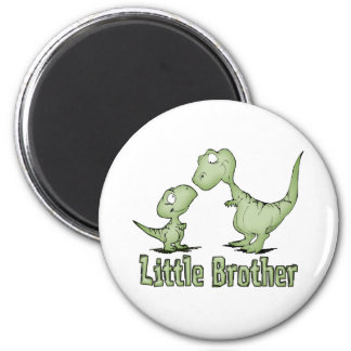 Dinosaurios pequeño Brother Imán Redondo 5 Cm