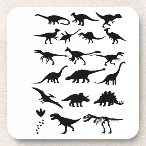 Dinosaurios Posavasos De Bebida