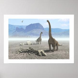 Dinosaurios Póster