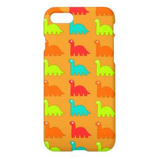 Dinosaurios que caminan del modelo lindo de Dino Funda Para iPhone 7