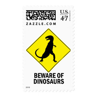Dinosaurios Sello Postal