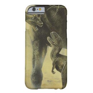 Dinosaurios, Torvosaurus y Brachiosaurus del Funda Para iPhone 6 Barely There