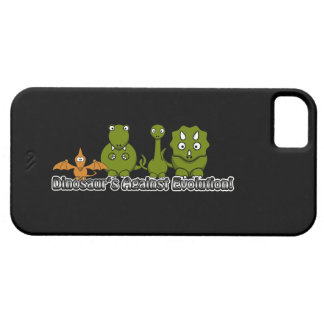 Dinosaurs Against Evolution iPhone SE/5/5s Case