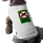 Dinosaurs are Disrespectful Dog T-shirt