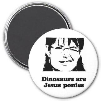 Dinosaurs are Jesus ponies Magnet