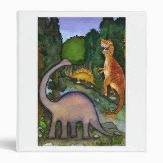 Dinosaurs at Creek Binder