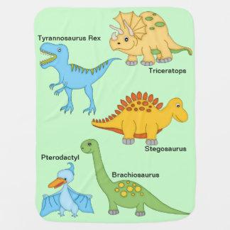 Dinosaurs Baby Blanket