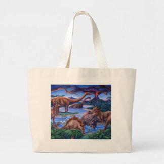 Dinosaurs Tote Bags