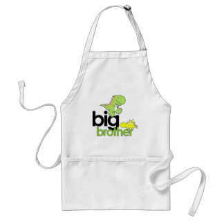 dinosaurs big brother adult apron