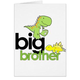 dinosaurs big brother card