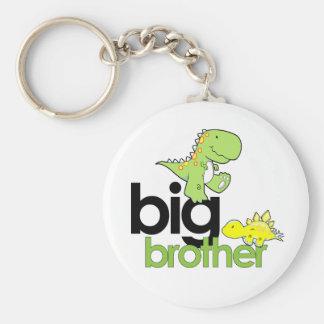 dinosaurs big brother keychain