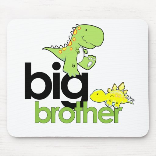 dinosaurs big brother mouse pads