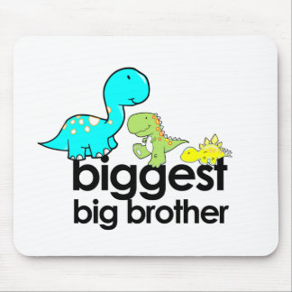 dinosaurs biggest big brother mouse pad