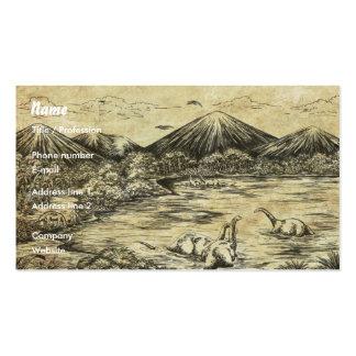 Dinosaurs Business Card