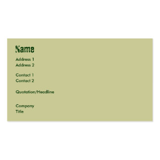 Dinosaurs Double-Sided Standard Business Cards (Pack Of 100)
