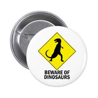 Dinosaurs Button