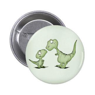 Dinosaurs 2 Inch Round Button