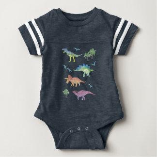 DINOSAURS! by Frank-Joseph Baby Bodysuit