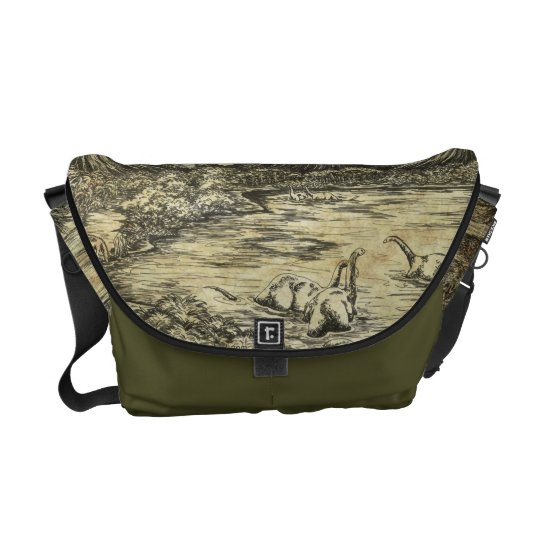 Dinosaurs Courier Bag