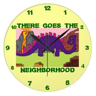 DINOSAURS - DINO NEIGHBORHOOD Clocks