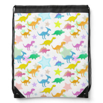 Dinosaurs Drawstring Backpack