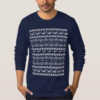 Dinosaurs & Dreidels (Adult) T-Shirt